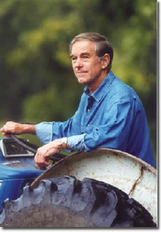 Ron Paul Tractor